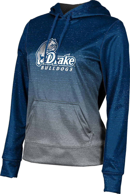 ProSphere Drake University Girls' Pullover Hoodie, School Spirit Sweatshirt (Ombre)