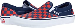 Checkerboard Navy/Orange