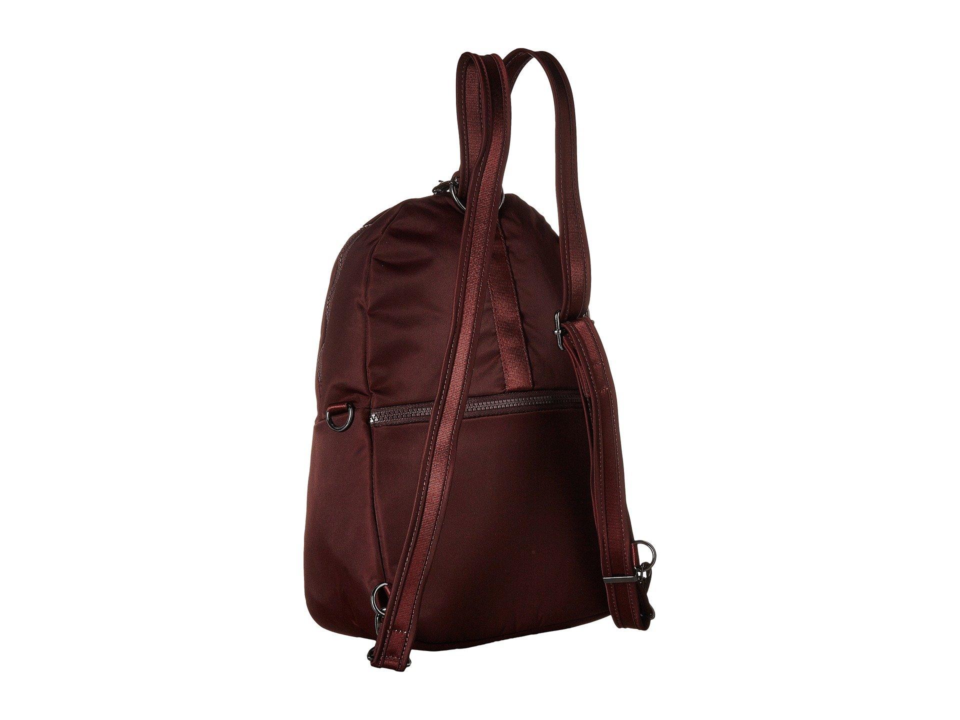 Backpack Crossbody Merlot Anti Convertible theft To Citysafe Cx Pacsafe 4Zqwx6ZX