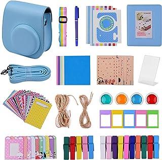 Andoer 12-in-1 Instant Camera Accessories Bundle Kit for Fujifilm Instax Mini 11 Including Camera Bag/Camera Strap/Photo A...