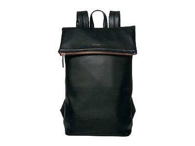 Matt & Nat Colton Loom (Black/Rose Gold) Backpack Bags