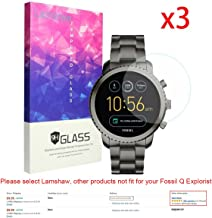 Lamshaw cdy-273 for Fossil Q Explorist Screen Protector, 9H Tempered Glass Screen..