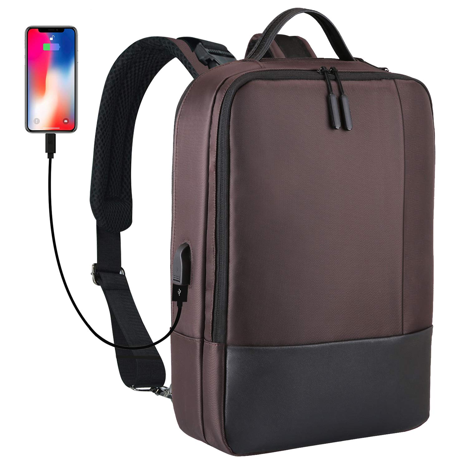 Backpack Anti Theft Charging Lockable Lightweight