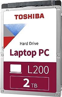 قرص صلب داخلي للكمبيوتر المحمول توشيبا HDWL120XZSTA L200 بسعة 2 تيرا بايت كمبيوتر محمول 5400 دورة في الدقيقة ساتا 6 جيجا/ث...