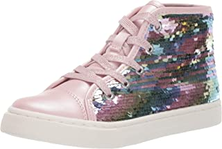 The Children's Place Kids' High Top Flip Fashion Sneaker
