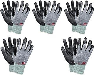 3M Comfort Grip Nitrile Foam Work Gloves, Super Grip 200,