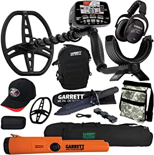 Garrett AT MAX Metal Detector with MS-3, Pro-Pointer AT, Carry