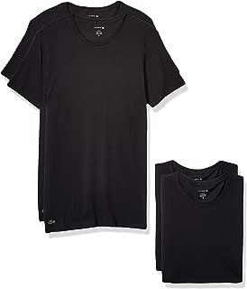 Lacoste Men's Cotton Stretch Slim Fit Crew Neck T-Shirt, 3 Pack