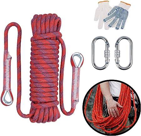 ND-Climbing rope Cuerda de Nylon, la Carga de 12 mm de ...