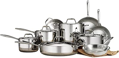 Member's Mark Tri-Ply Clad 14-Pc. Cookware Set (14-Piece)