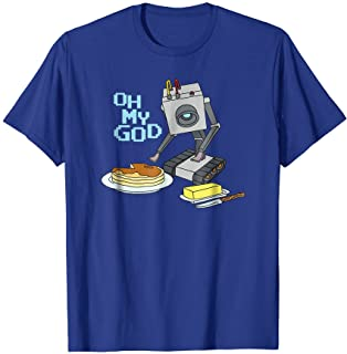 Rick and Morty Butter Bot with Pancakes T-shirt