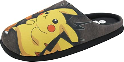EASTVAPS Chaussons Pantoufles Maison Pokemon Go Pikachu: Amazon.fr ...
