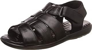 Scholl Men's Aldis Leather Thong Sandals