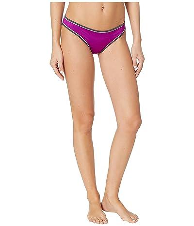 Stella McCartney Contrast Trim Classic Bikini (Bright Purple) Women