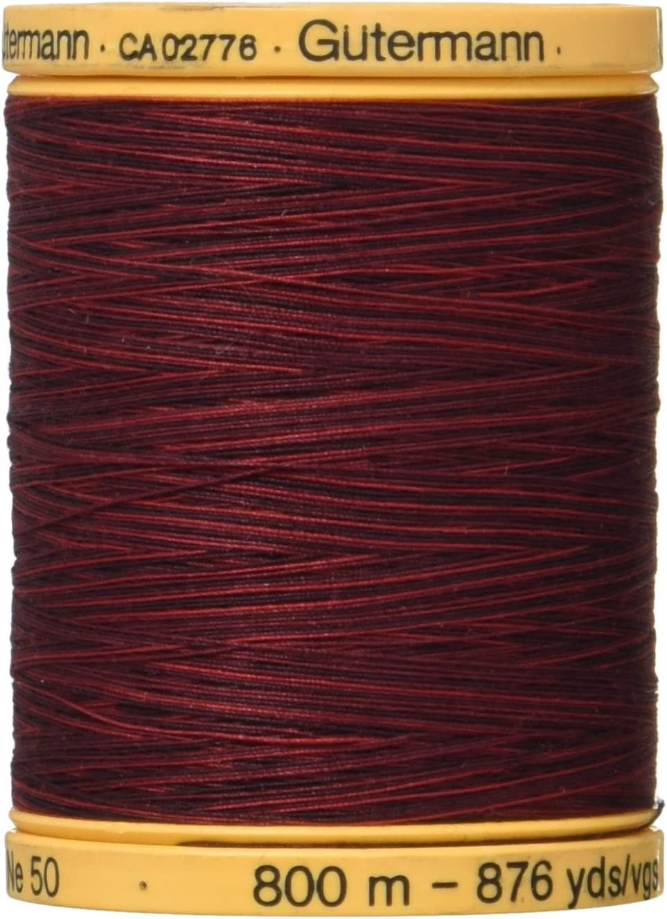 876yds Gutermann 100/% Cotton Color #9973 Ruby Red Variety Thread 800m