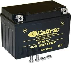 CALTRIC AGM BATTERY compatible with KAWASAKI NINJA 650 EX650 EX-650 ABS 2012 2013-2015