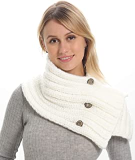 white aviator scarf