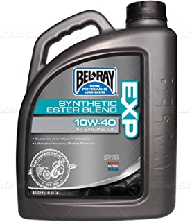 Bel-Ray EXP Synthetic Ester Blend 4T Engine Oil 10W40-4L. 99120-B4LW (1)