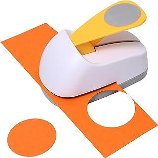 ASPERFFORT Craft Lever Punch 1.5 inch DIY Handmade Circle Paper Punch Hole Punch(1.5inch Circle)