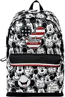 Mickey Mouse U.S.A.-Mochila Freetime HS 1.1, Multicolor