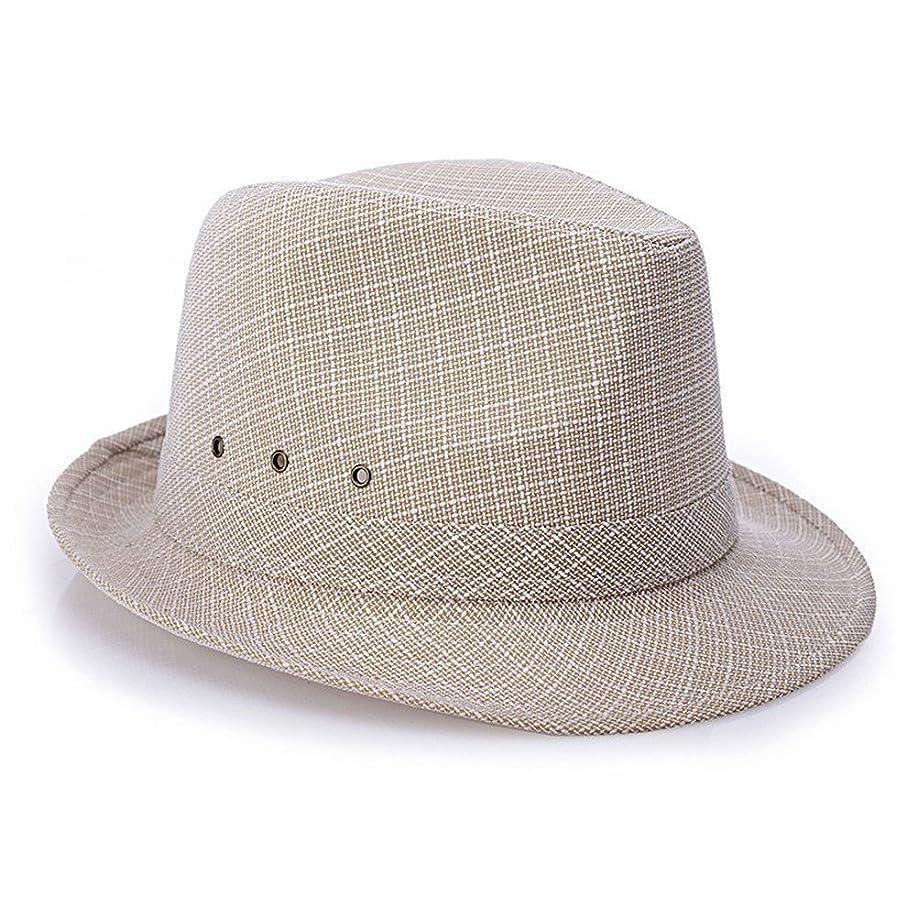 ファセット学生評判日曜日の帽子、中年男性の夏の旅行休暇の日曜日の帽子、通気性のエチケットの帽子