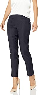 Ruby Rd. Women's Pull-on Heathered Millennium Tech Stretch Pant