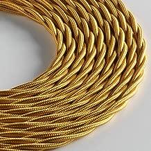 Klartext LUMI/ÈRE C/âble textile rond pour /éclairage 3 x 0,75 mm Blanc mat 3 m S/écurit/é maximale contre les chocs.