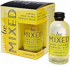 Be Mixed Zero Calorie Margarita, 4-Ounce Glass Bottles (Pack of 4)