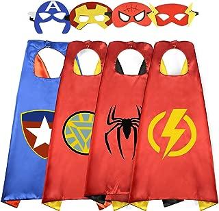 DEDY Popular Super Hero Cartoon Capes for Kids - Best Gifts