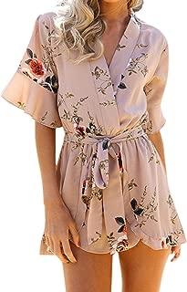 Roman Originals Femmes Rose Imprimé Floral Volants Haut à Manches Tailles 10-20