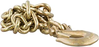 CURT 80304 35-Inch Trailer Safety Chain with 5/16-In Clevis Snap Hook, 18,800 lbs Break Strength