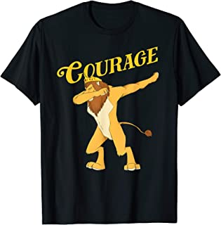Cowardly Lion Dab T-Shirt - The Wizard Of Oz TShirt -Courage T-Shirt