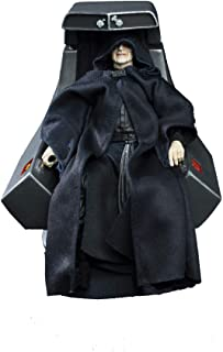 Star Wars The Black Series Emperor Palpatine Action Figure with Throne 6
