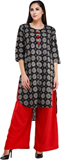 MEVE Cotton Kurta and Palazzo Set for Women