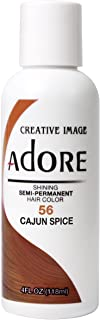 Adore Semi-Permanent Haircolor #056 Cajun Spice 4 Ounce (118ml)