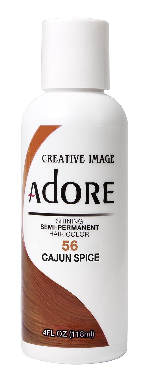 要求成り立つ意志に反するADORE SEMI-PERMANENT HAIR COLOUR CAJUN SPICE(56)-118ml by ADORE [並行輸入品]
