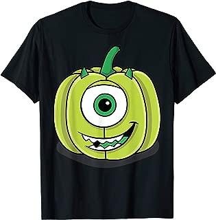 Disney Pixar Monsters Inc. Mike Green Pumpkin Halloween T-Shirt