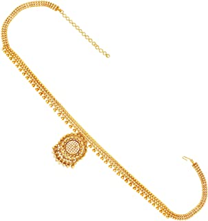 ACCESSHER Traditional Golden White Gold Plated Kamarband