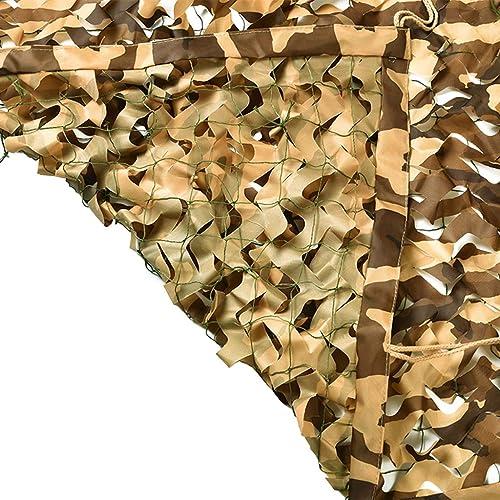Filet De Camouflage Désert De Filets Filets Militaire Couverture Camouflage Chasse d'ombrage Sable Beige Faire de l'ombre filet d'ombrage Pare-Soleil Auvents pour voitures
