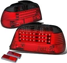 DNA Motoring TL-E3895-LB-RD-SM TLE3895LBRDSM LED Tail Light Assembly (Driver & Passenger Side) for BMW E38 7-Series