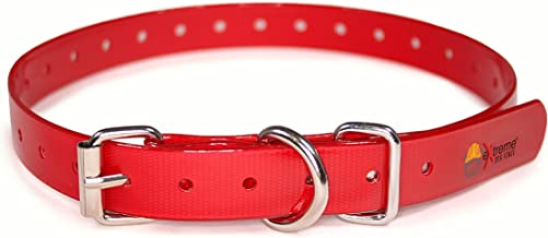 Extreme Dog Fence TPU Dog Collar Belt for Bark and Electric Dog Fence Receivers- Waterproof Adjustable Strap Replacement - Compatible with Most Dog Fence Brands