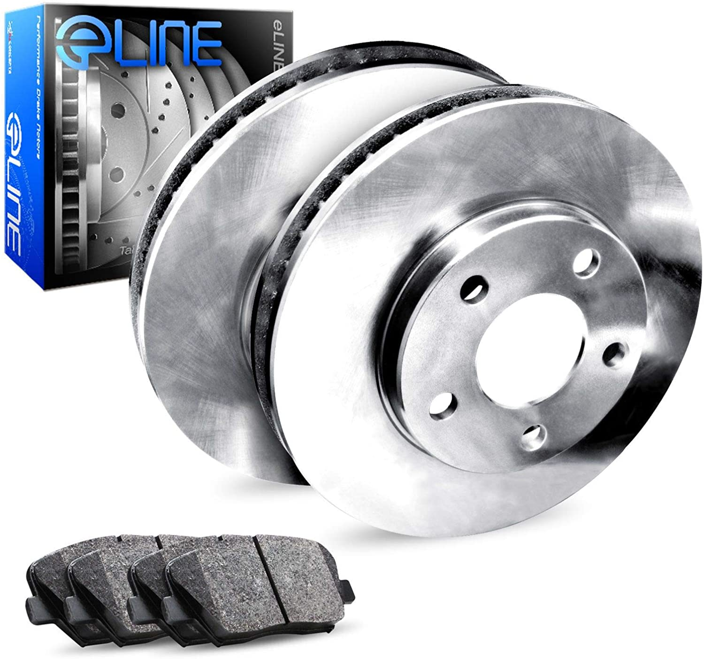 For 2003-2011 Element TL Rotors+Semi-Met Plain Sale Max 86% OFF SALE% OFF Brake Rear