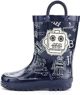 native design rubber boots