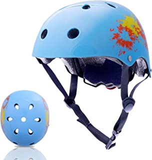 Exclusky Kids Bike Helmet, 3-8 Years Boys Girls Safety Helmets for Multi-Sports Cycle Skating Scooter - CPSC Certified