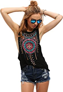 Best womens boho tank tops Reviews