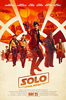 MCPosters Han Solo A Star War Story GLOSSY FINISH Movie Poster - MCP378 (24