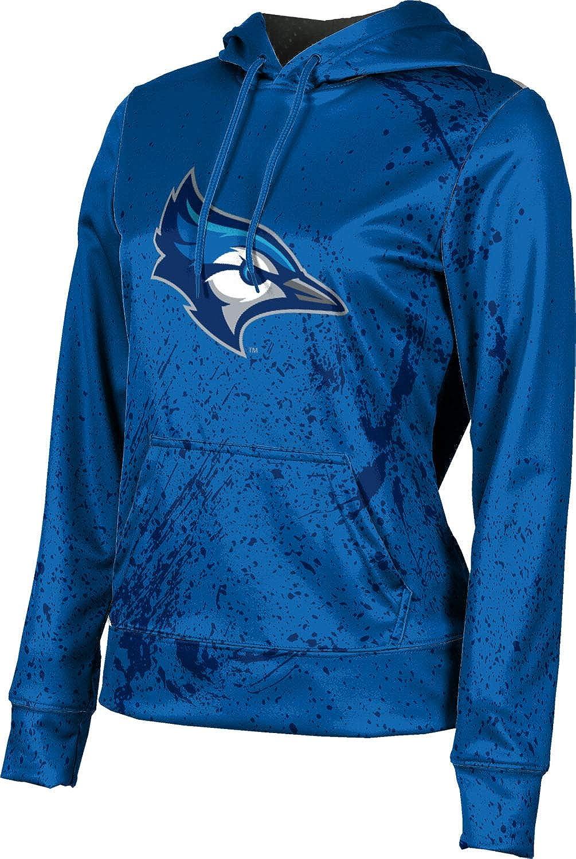 ProSphere Creighton University Girls' Pullover Hoodie, School Spirit Sweatshirt (Splatter)
