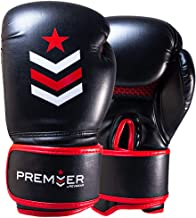 Revgear Premier Boxing Gloves | Perfect for Hitting The Bag, Pads and Focus Mitts | Comfortable and Durable