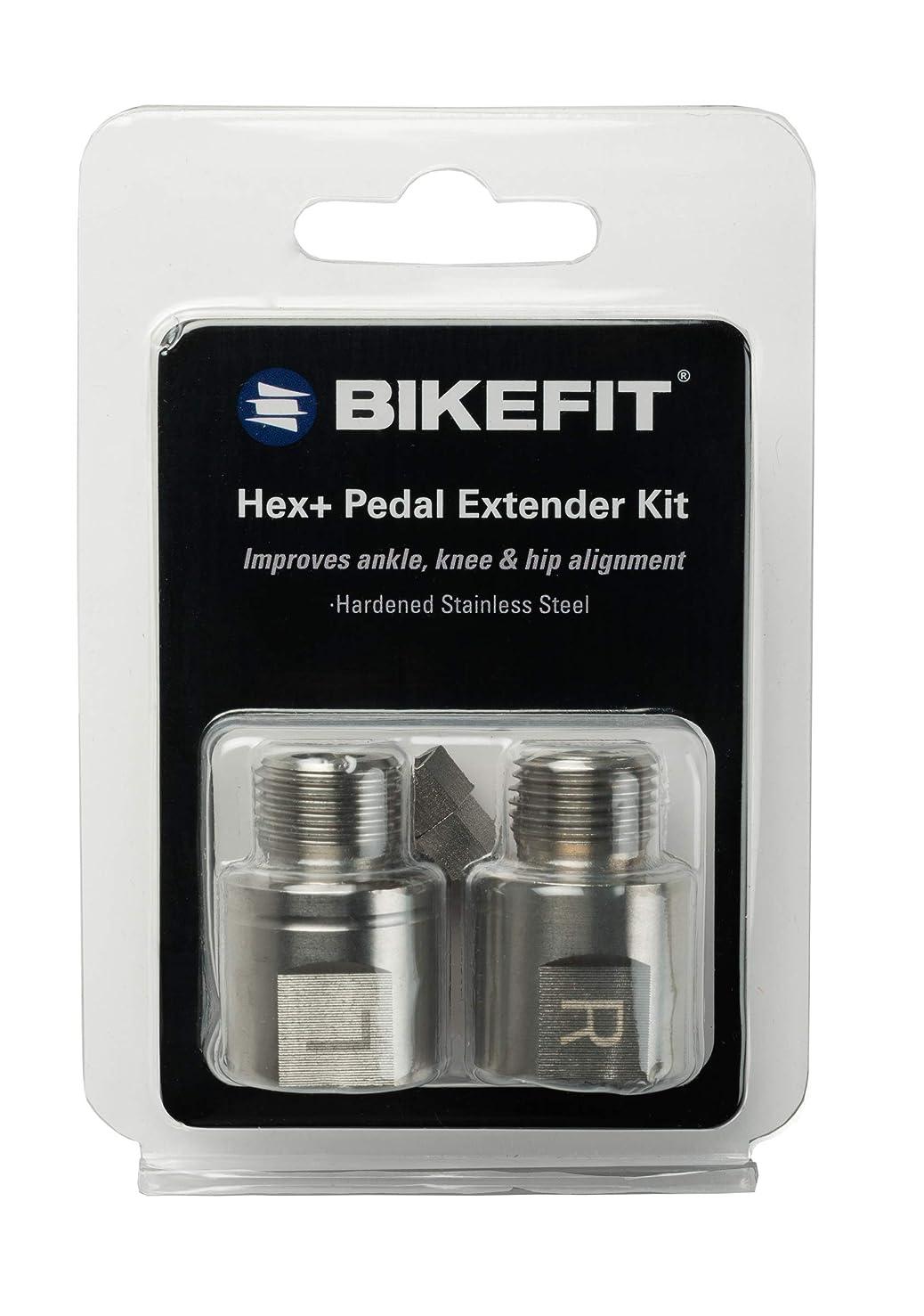 フォルダ倉庫盗難BIKEFIT(バイクフィット) Hex+ 20mm ペダルスペーサー
