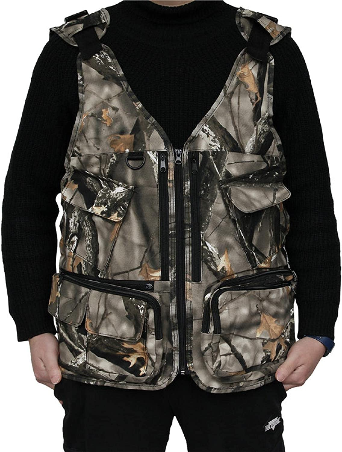 'N A' Outdoor Hunting Vest Max 80% Popularity OFF Multifunctional Cotton CS Camouflage